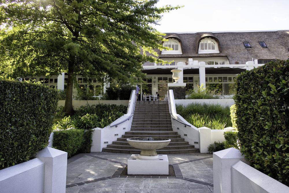 Le Franschhoek Hotel, SA, February Morning