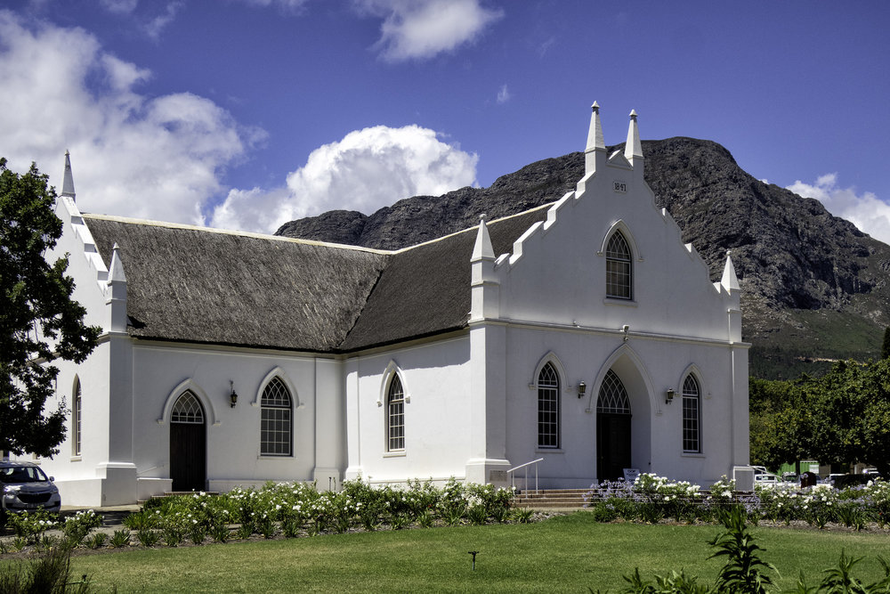 Franschhoek, SA, February Afternoon
