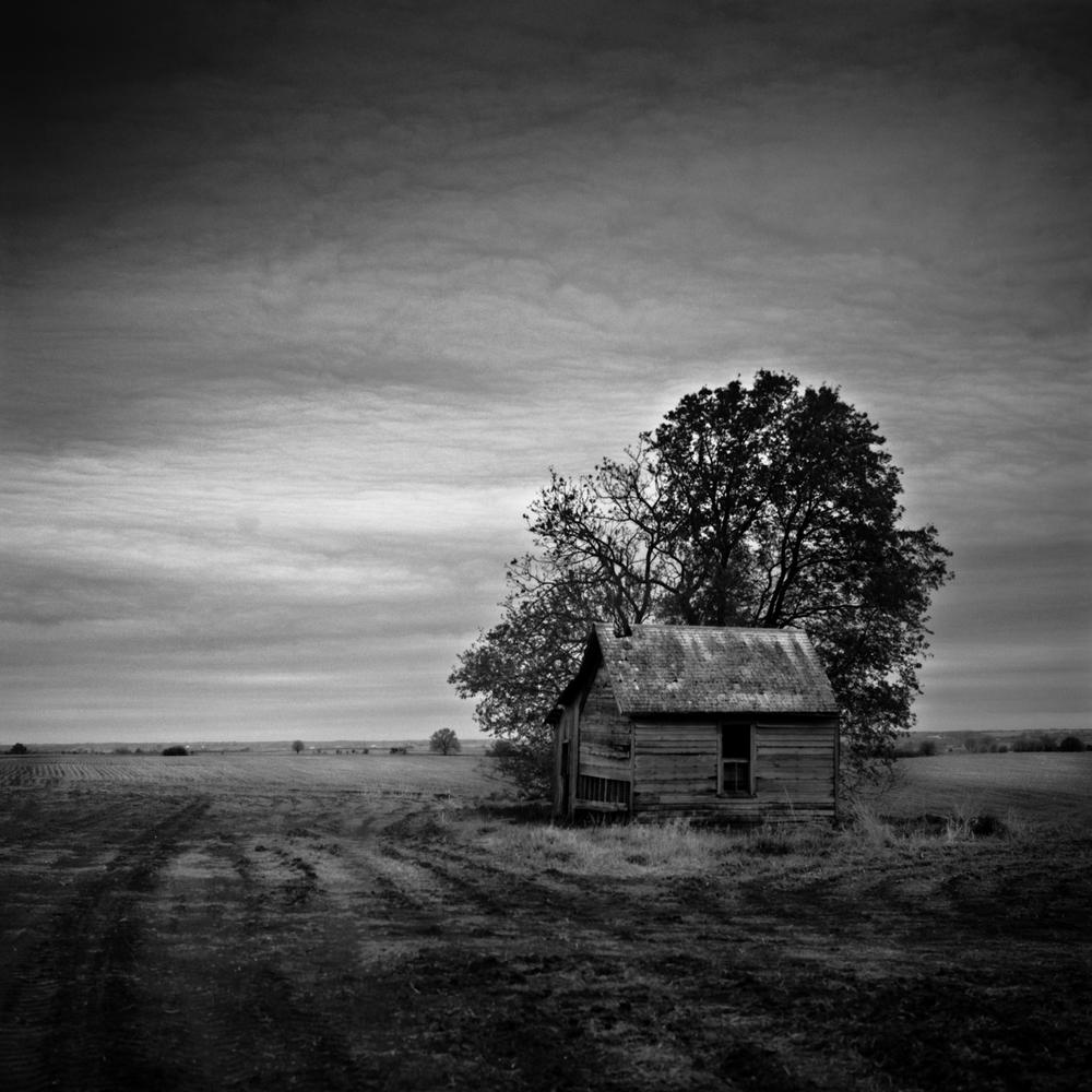 Spared, Nebraska, Nebraska Landscape Photography, Fine Art Black and White Photography, Nebraska Black and White Photography, Great Plains Landscape Photography, Nebraska Photography.