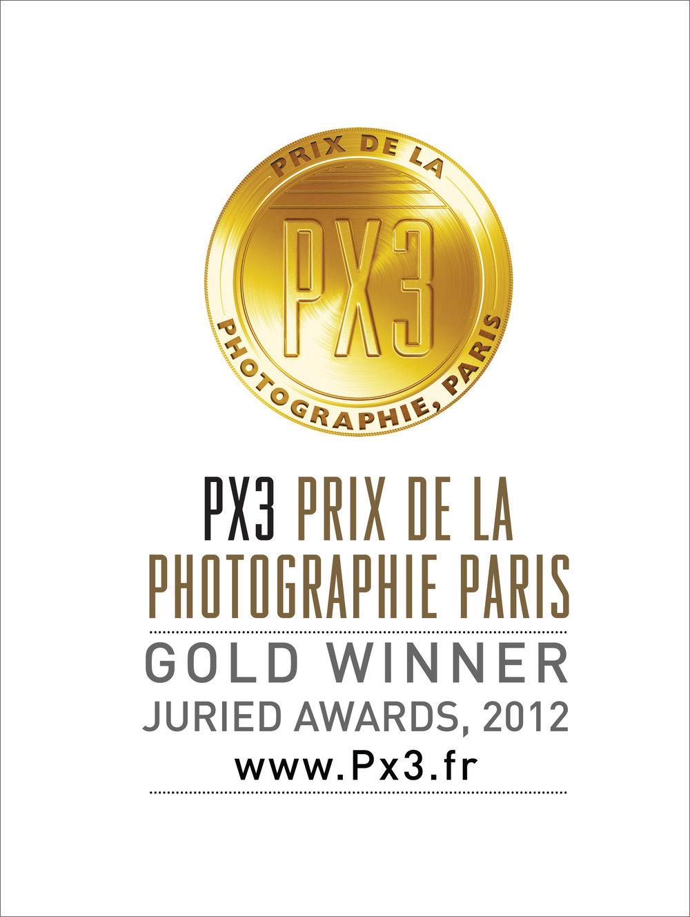 PX3 Prix De La Photographie Paris, Gold Award Winner