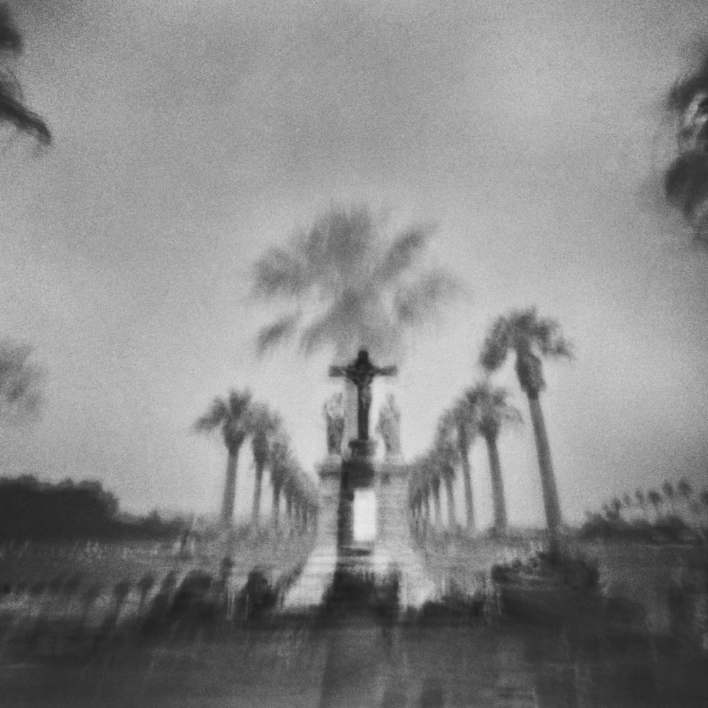 Tucson Arizona, Cemetery, Tucson Arizona Pinhole Photography