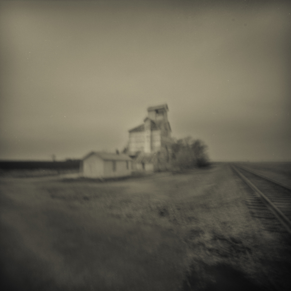 Isolation, Modern Pinhole Photography, Nebraska Landscape Photography  pinhole photography