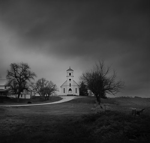 Rural Church, Spring Rain  good (1 of 1).JPG