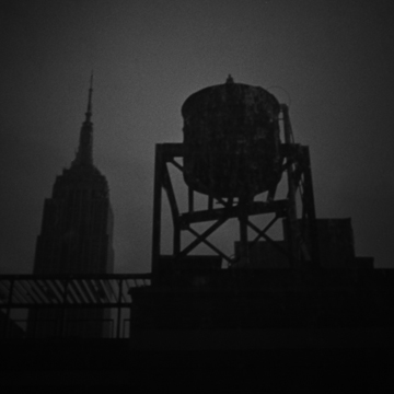 Water Tower Study: Empire State Building, Pinhole Photography