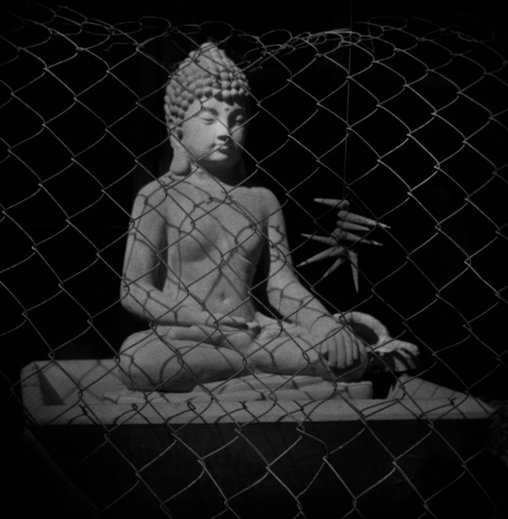 Caged Buddha, Puerto Penasco, Mexico, 2018