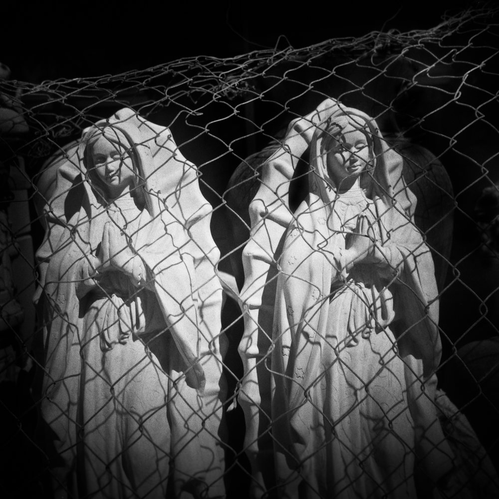 Caged Madonnas, Puerto Penasco, Mexico, 2018