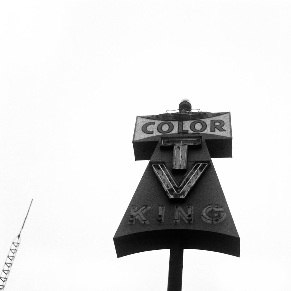 Color TV, Tucson, Arizona, 2018