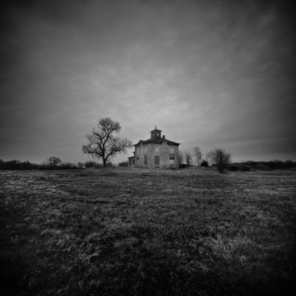 Pinhole Photography, Abandoned House, Ashland, Nerbaska