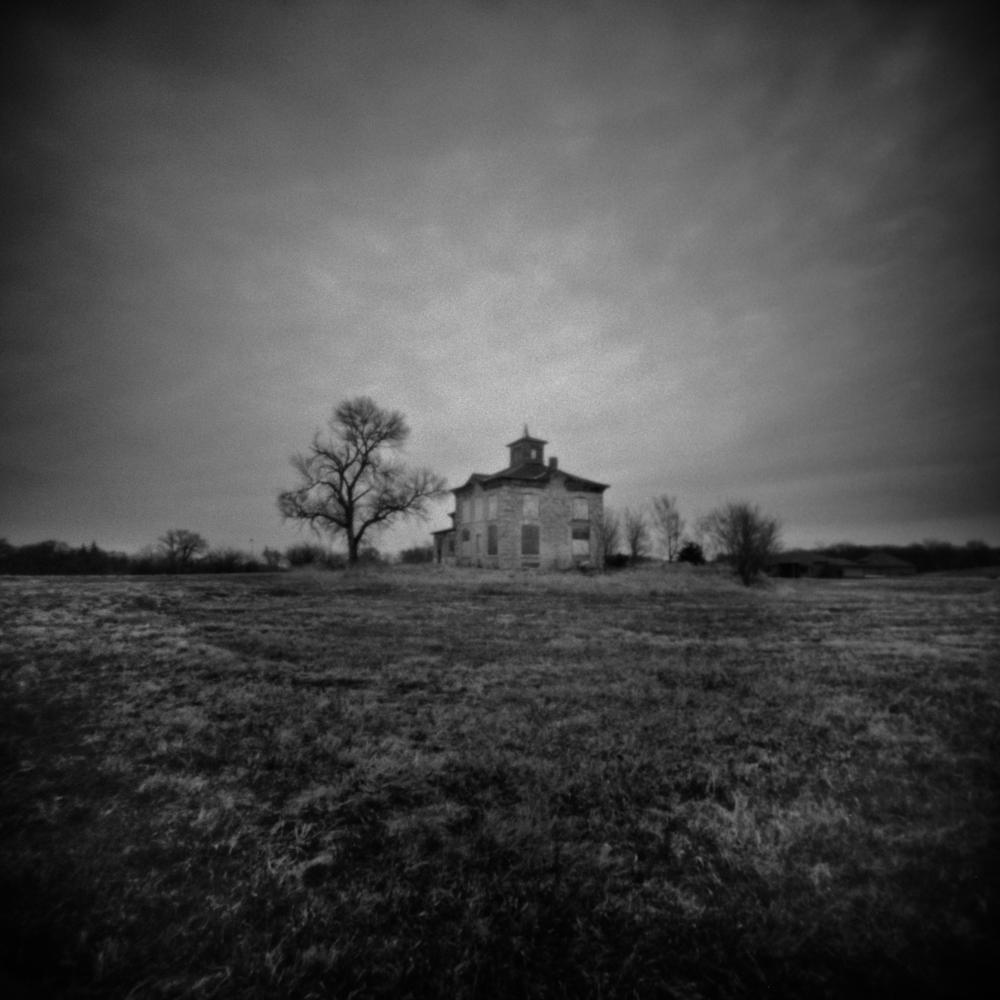 Abandoned House, Ashland, Nebraska, Pinhole Photography
