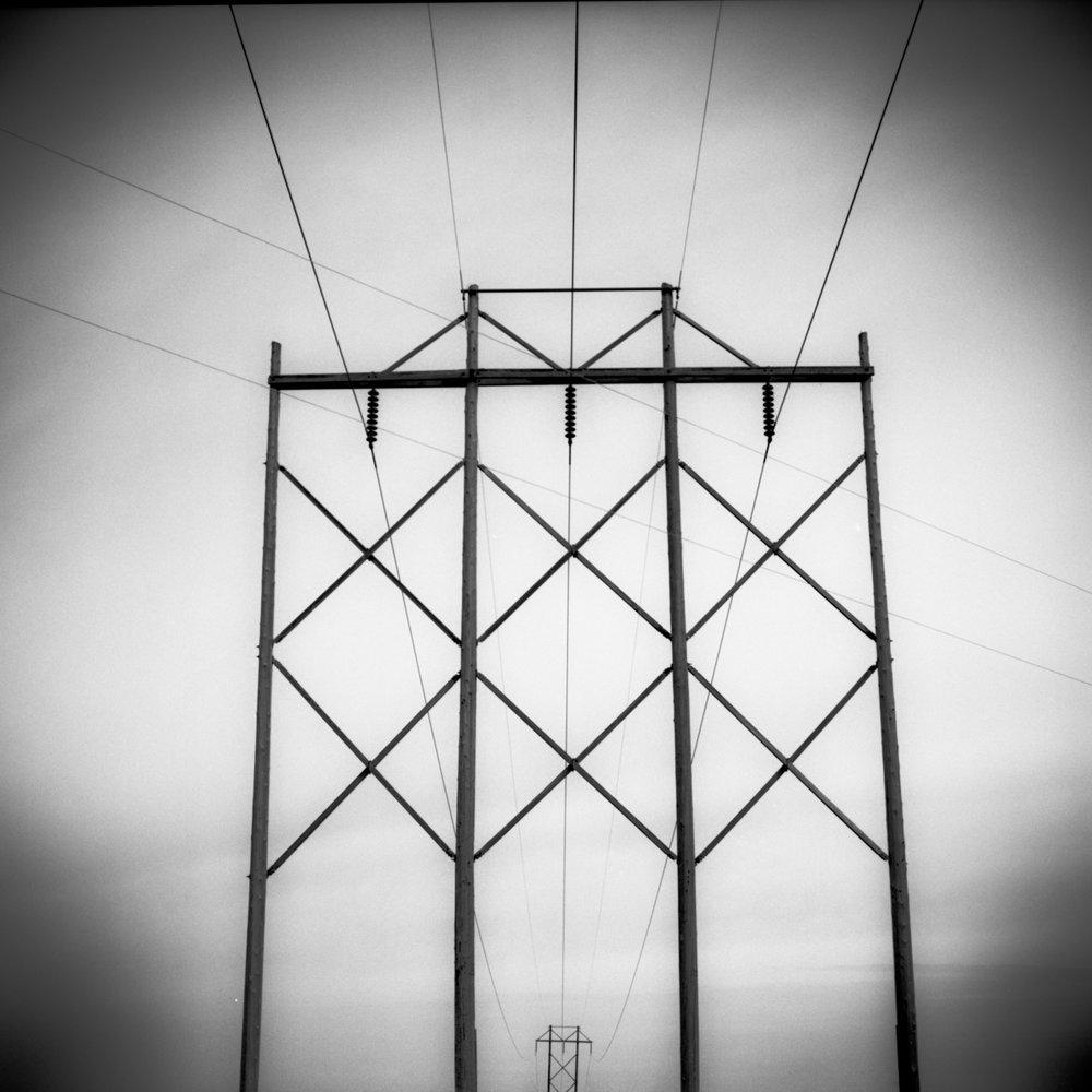 High Tension Wires, Nebraska