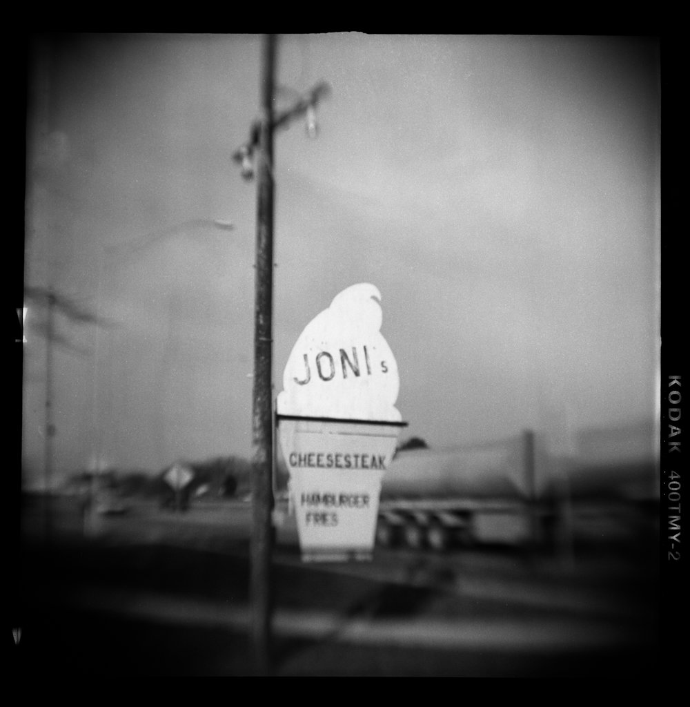 Summer Abandoned, Joni's, Pinhole Photography, David McCleery, 2018