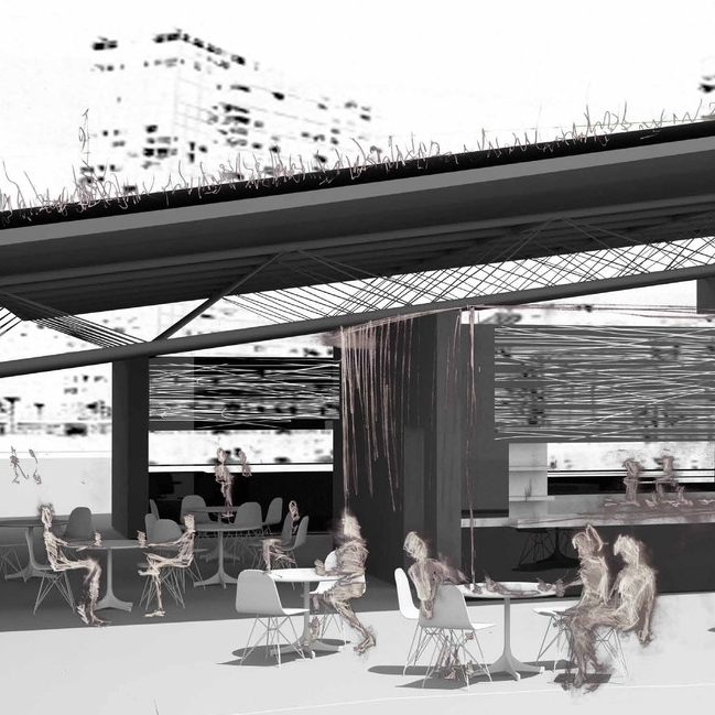 Ebb Transit Station // Urban riverfront reinvigoration