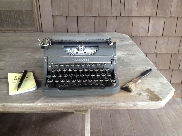 My Great-Grandmother's typewriter.