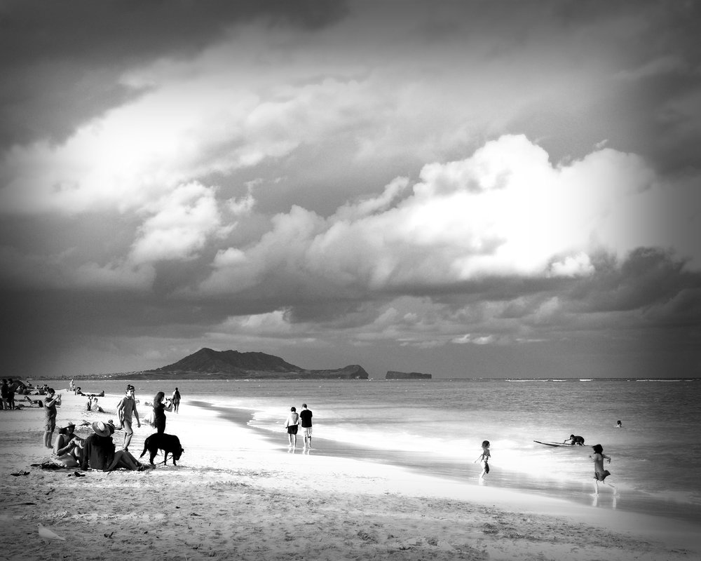 Lanikai before the Storm