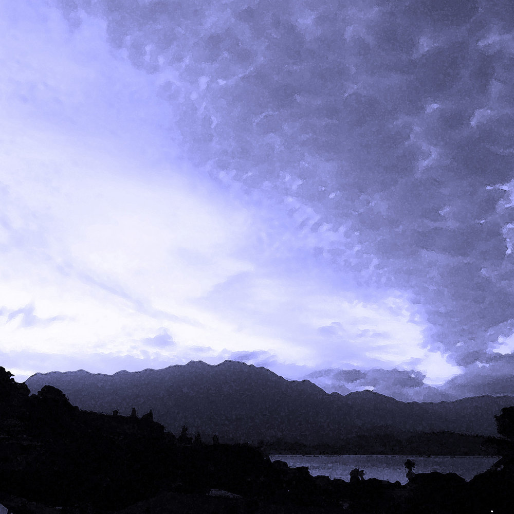 Indigo Dusk on Kaneohe Bay