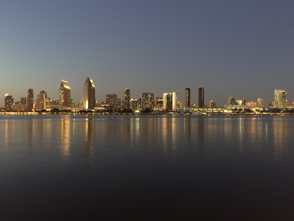 San Diego downtown core using cortex camera app with iPhone6