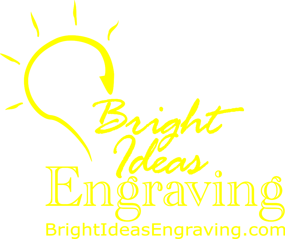 Bright Ideas Engraving