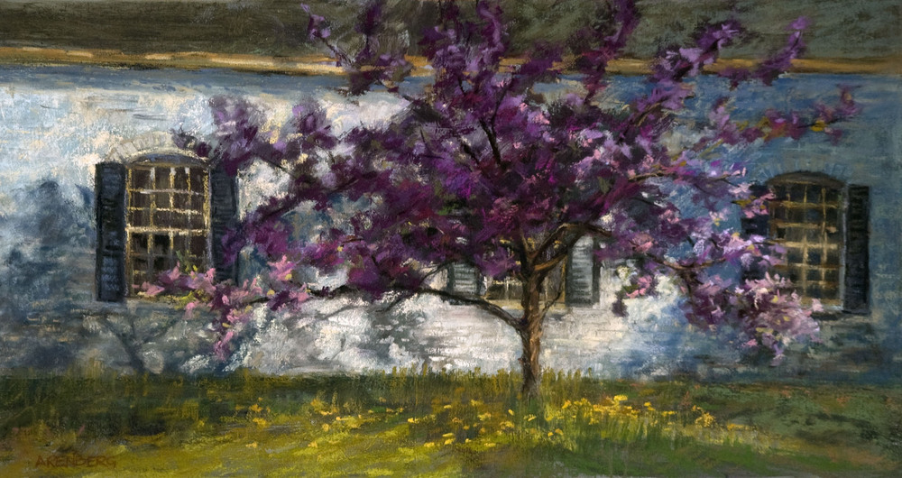 """Spring Standout""  Pastel on Board     12"" x 24""  SOLD"