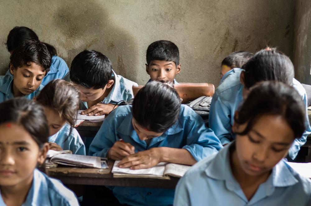 Class room Nepal