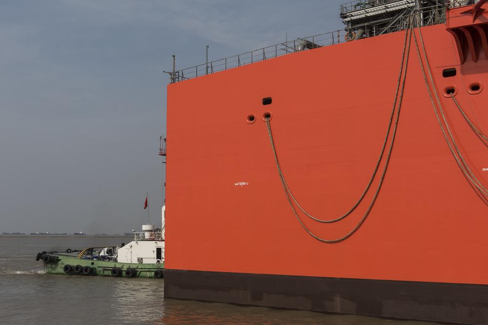 black & vetch barge china