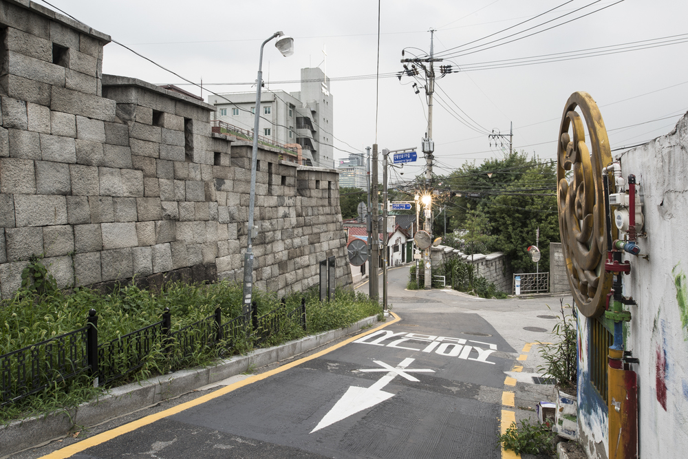 Seoul, South Korea, Old City Wall, 2015