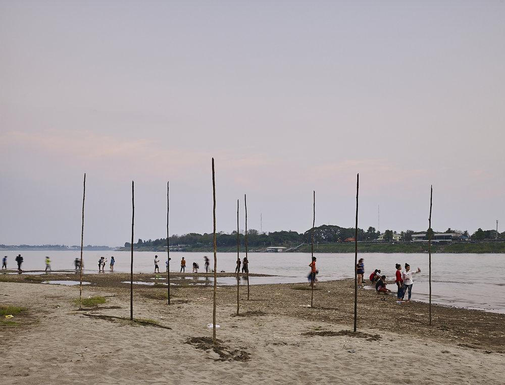 Mekong River, Vientiane, Laos, 2016