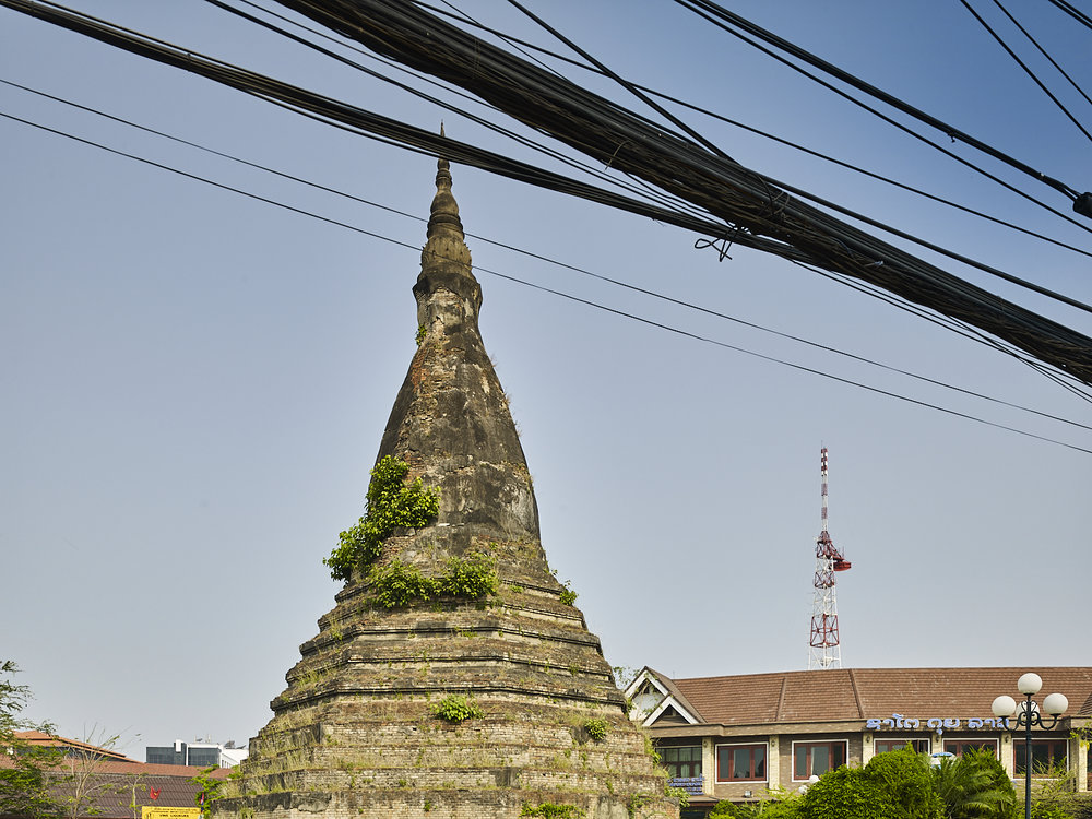 Stupa, Vientiane, Laos, 2016