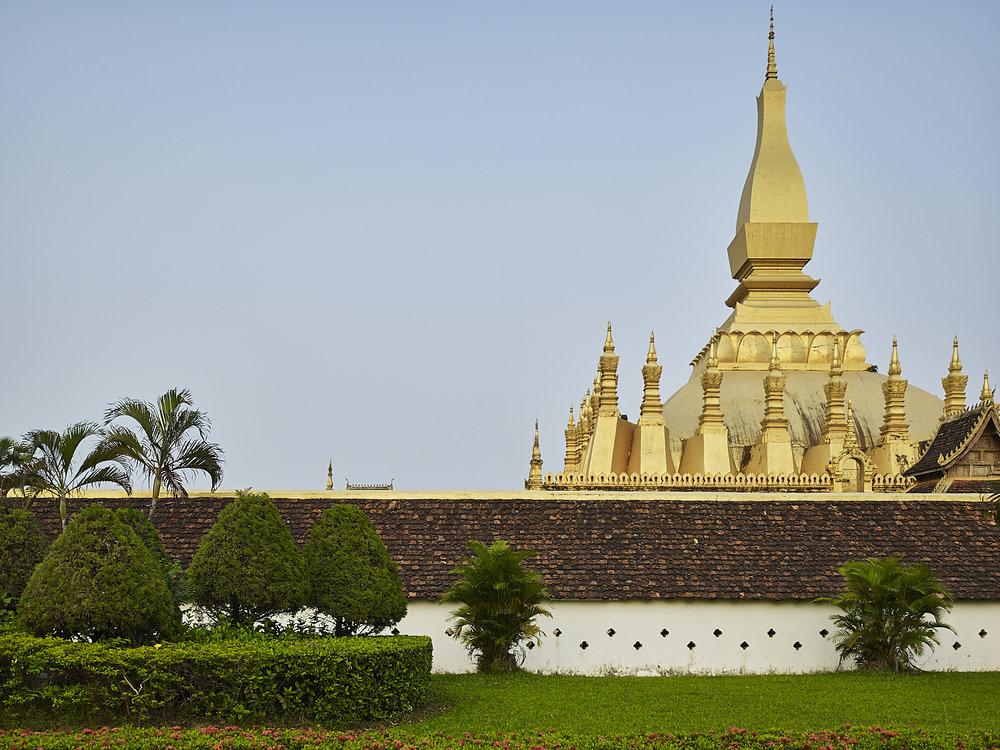 Pha That Luang, Vientiane Laos, 2016