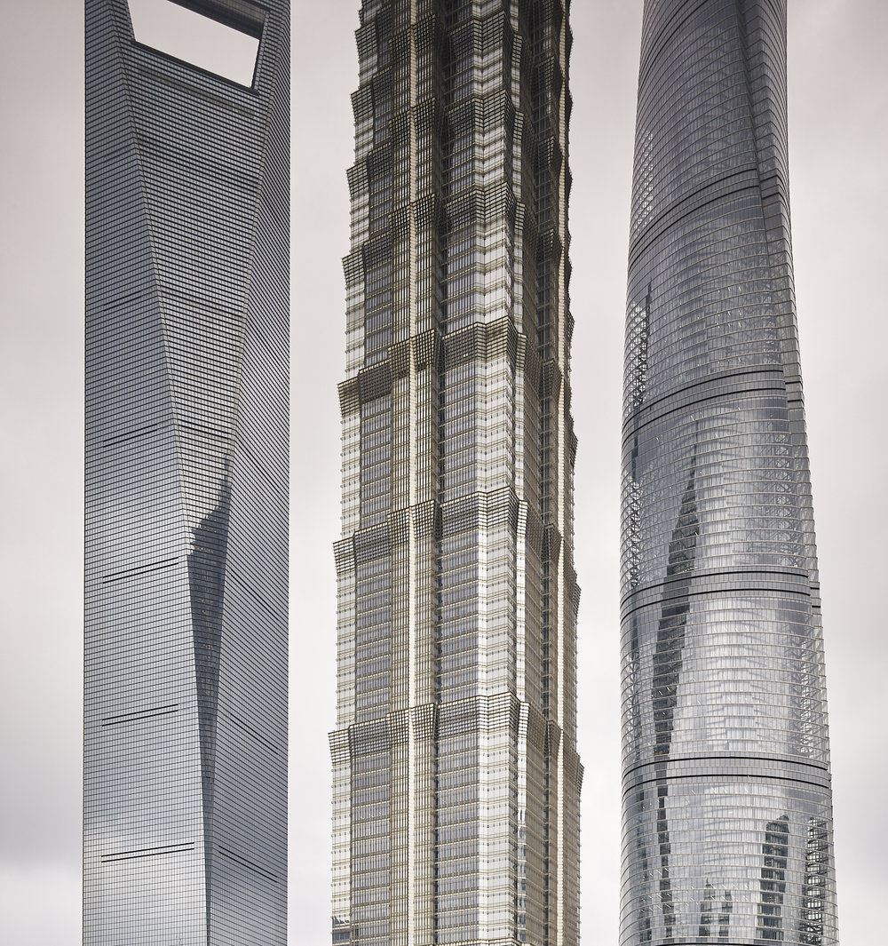 Pudong buildings, Shanghai, China, 2017
