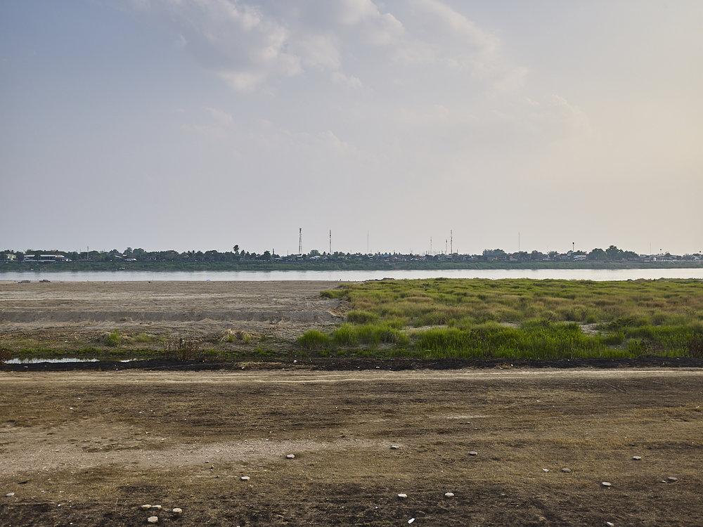 sand 07, Mekong River, Vientiane, Laos, 2018