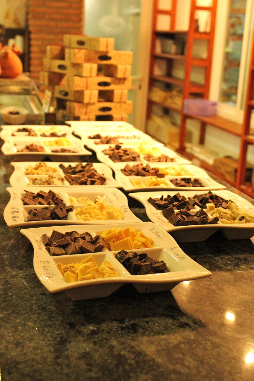 alpujaras chocolate tasting