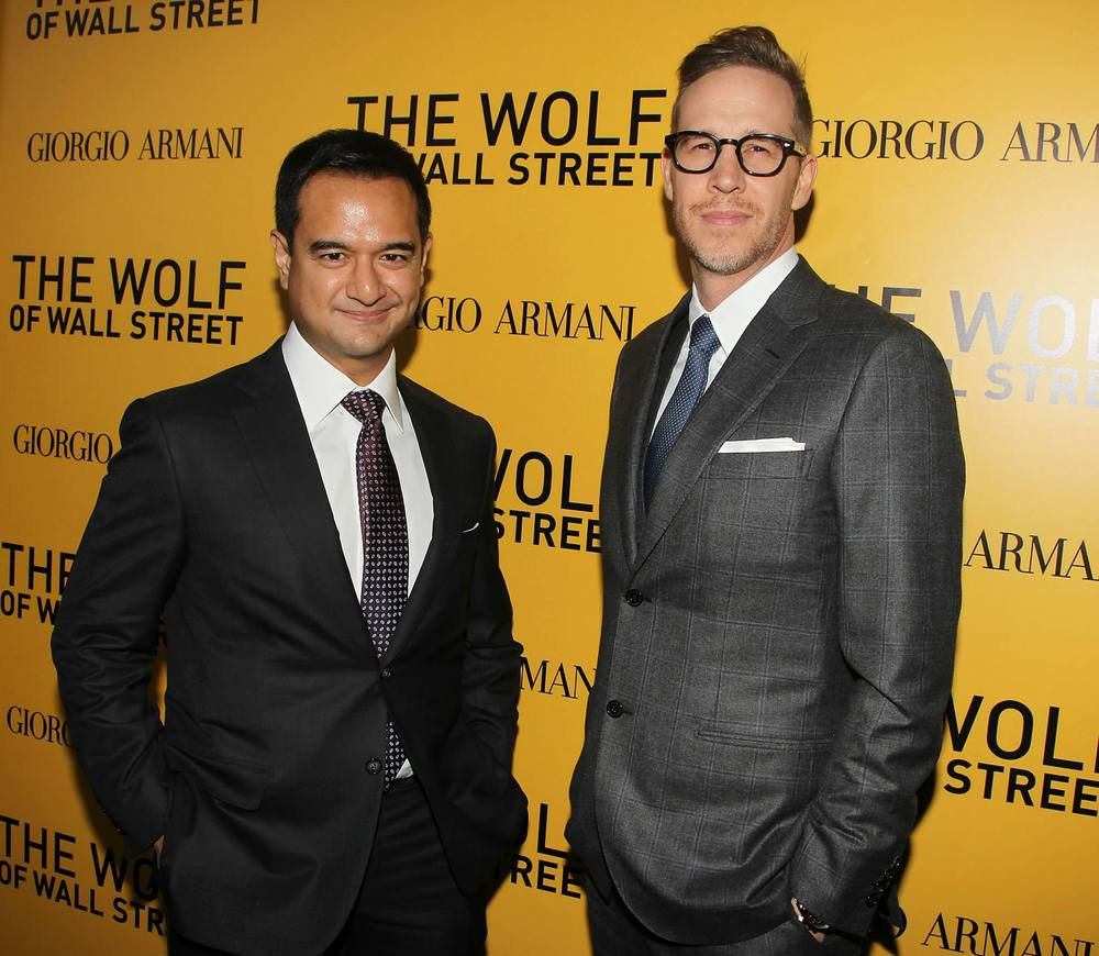 riza-aziz-joey-mcfarland-red-carpet-wolf-of-wall-street-premiere-red-granite-pictures-red-granite-international.jpg