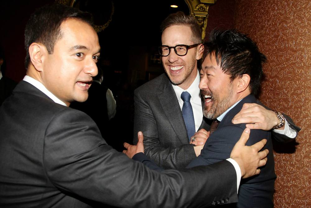 riza-aziz-joey-mcfarland-laughing-with-kenneth-choi-at-the-new-york-city-premiere-of-the-wolf-of-wall-street-red-granite-pictures-red-granite-international.jpg