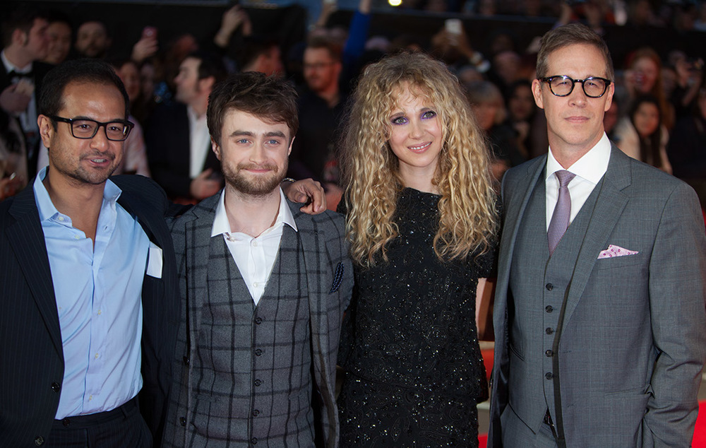 riza-aziz-with-producing-partner-joey-mcfarland-and-daniel-radcliffe-juno-temple-horns-premiere-london-movie.jpeg