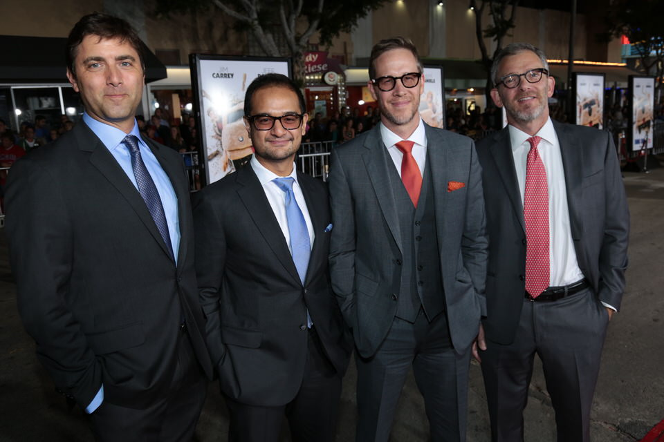 Dave-Koplan-Riza-Aziz-Joey-McFarland-Randy-Hermann-Dumb-and-Dumber-To-LA-Premiere-Red-Granite-Pictures-Dumb-To-11.03.14-94.jpg