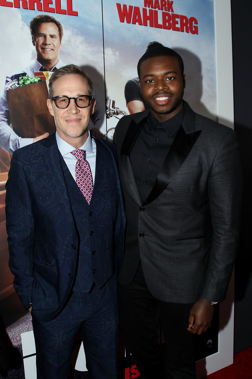 Joey-McFarland-with-Kevin-Olusola-Red-Granite-Pictures-Daddys-Home-New-York-Premiere.JPG