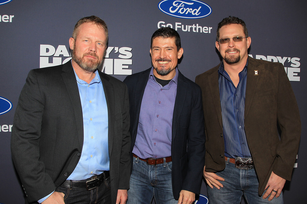 Mark Geist, Kris Paronto and John Tigen