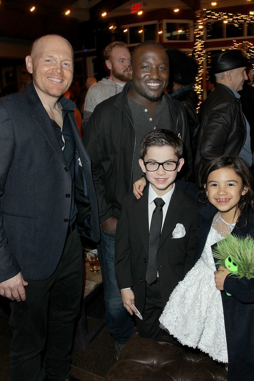Bill Burr, Hannibal Buress, Owen Vaccaro, Scarlett Estevez