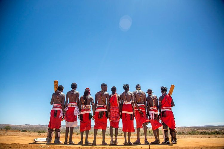 Kenya's Maasai Cricket Warriors PHOTOGRAPHY BY GEORGINA GOODWIN