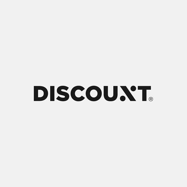 Discount Logotype by @kairevicius  #logoinspirations #logo #logodesign #branding #brandidentity #graphicdesign #graphicdesigner #creative #instalogood #logotype #font  Checkout @inspiredinspire for motivational and inspiring posts  @inspiredinspire  @inspiredinspire  @inspiredinspire