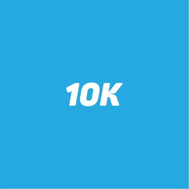 I hit 10,000 followers today! Thank you to all of you who share my passion and interest for great logo design. Heres to another 10,000 #10K  Shout out to my life coach @dodsie101, he is a gem of a guy!