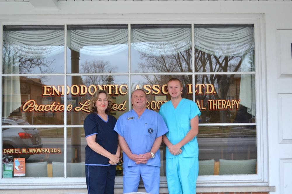 Pictured left to right: Candice Janowski, Dr. Daniel Janowski, Cameron Janowski