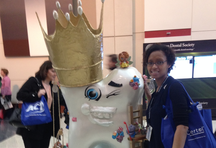 Christine at the 2014 Chicago Dental Convention.