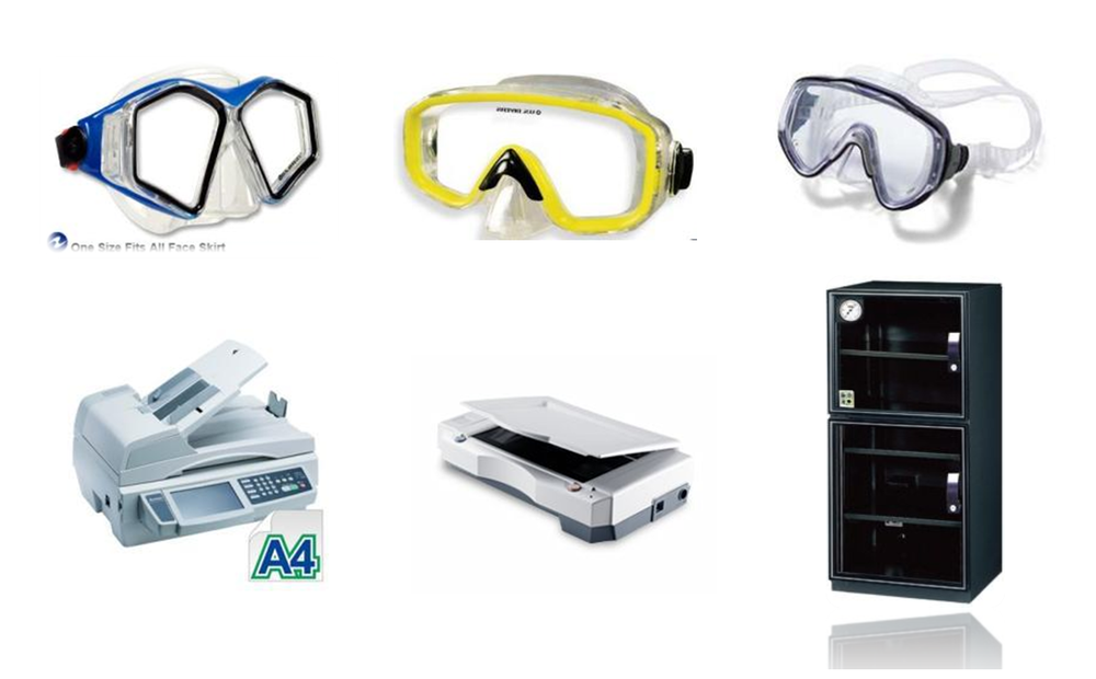 Diving Mask & Office Appliance