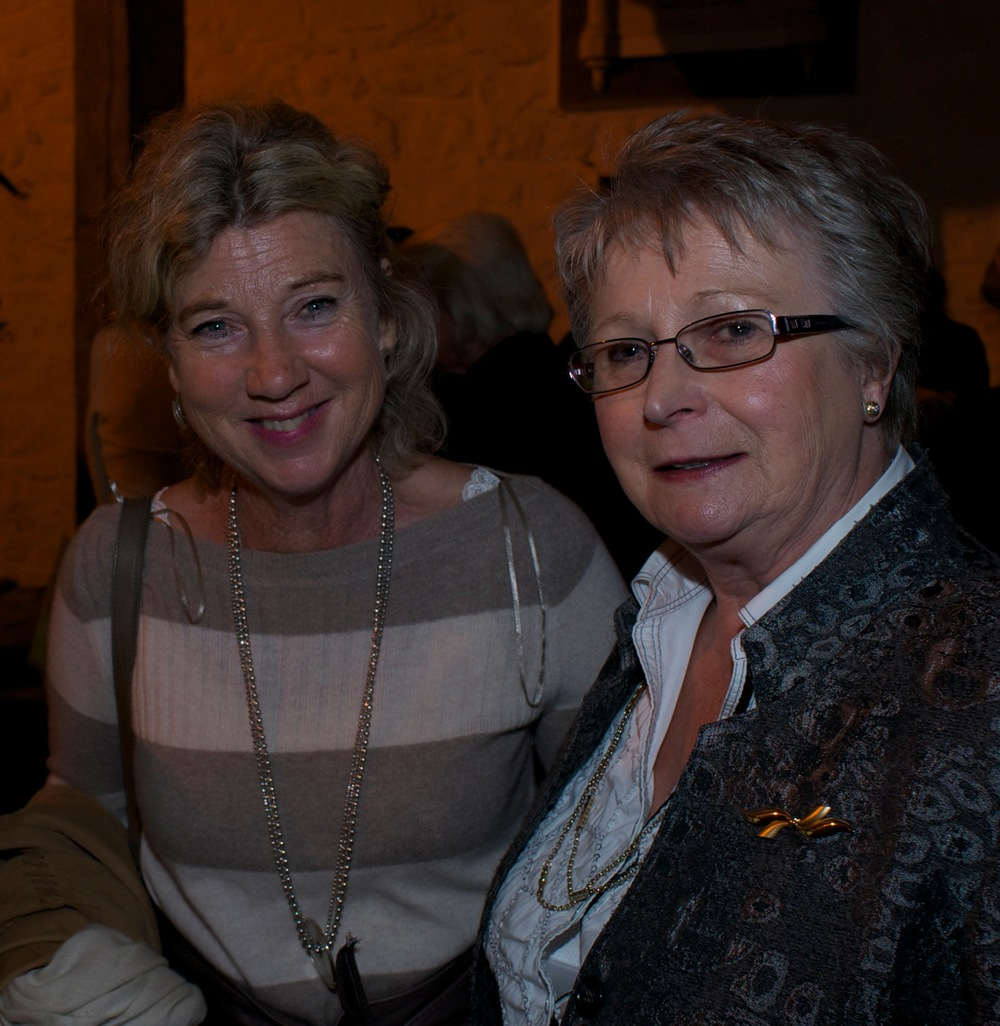Daphne Henderson and Nuala Greene