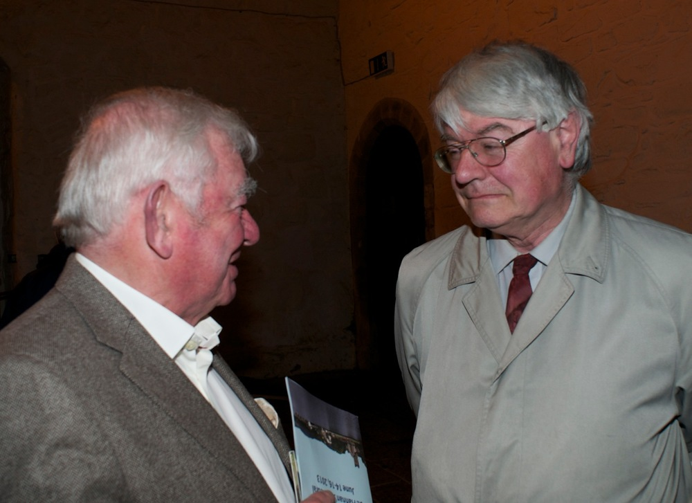 Sean Donlon and Martin Mansergh