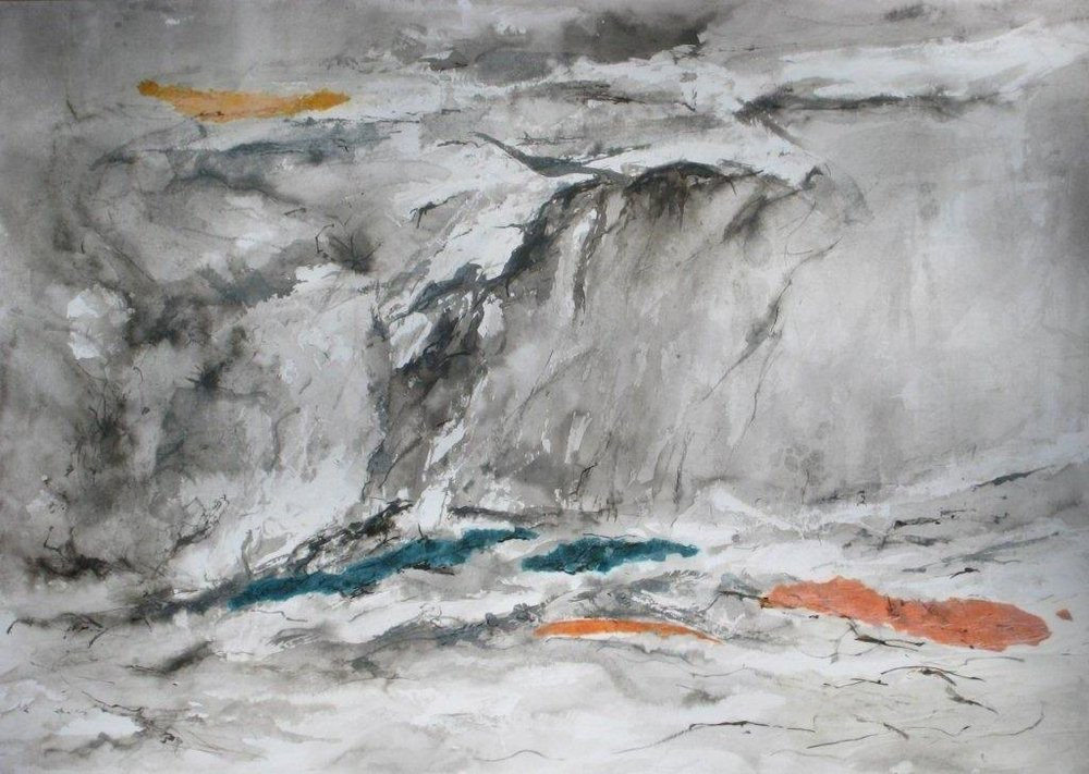 'Study for Grey Landscape', by Lorraine Wall