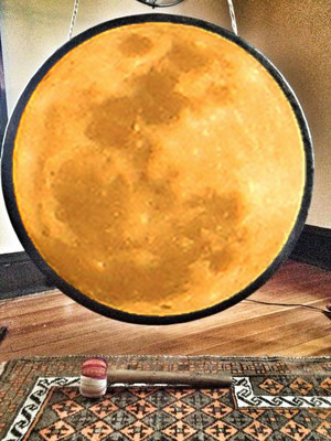 sound healing super moon