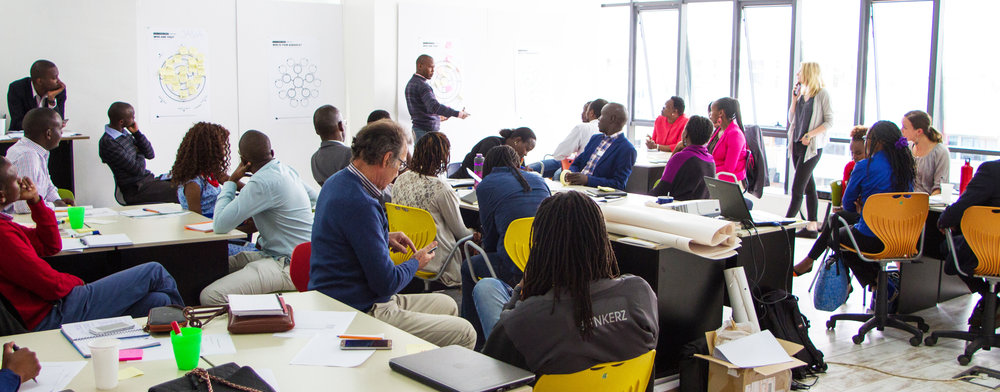 Anne training at GrowthAfrica in Nairobi, one of the most successful accelerators in Africa today.