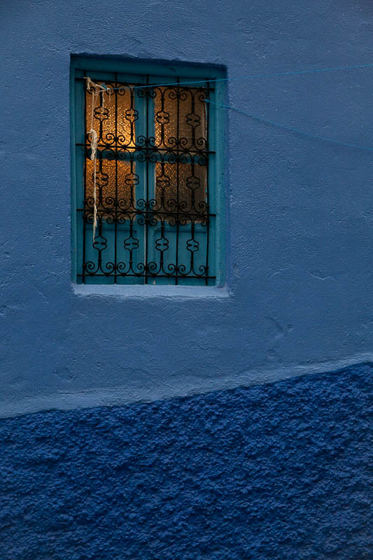 Chefchaouen window, Morocco